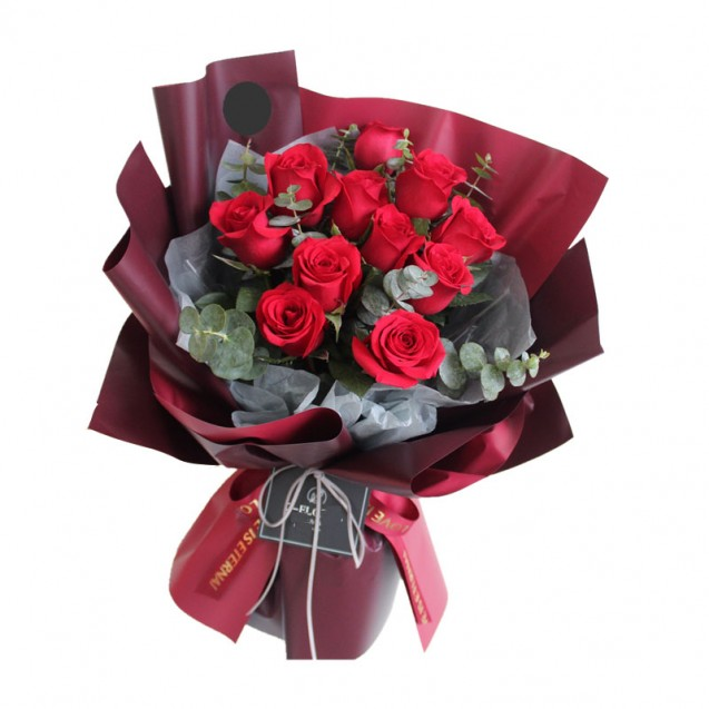 11 Red Rose Bouquet BR11-097