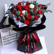 19 Red rose bouquet BR19-031