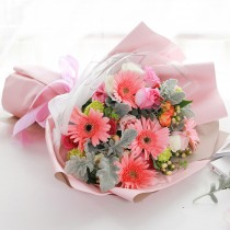 Pink Flower Bouquet BM-015