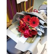 Red sunflower Rose BM11-082