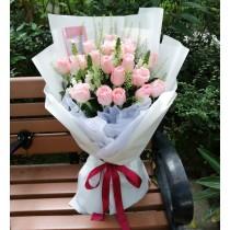 18 Pink Rose  BR18-083